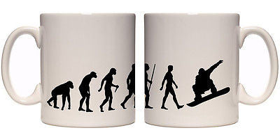 Juko Evolution Ape To Man Snowboard Evo Tea Coffee Cup - Juko
