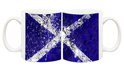 Juko Scotland Flag Rugby Football World Cup Tea Coffee Mug
