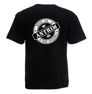 Juko Children's Made In Antrim T Shirt 100% Original