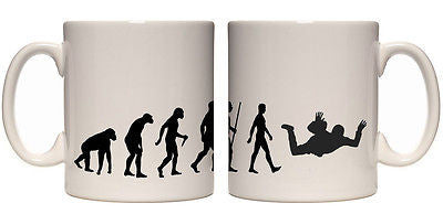 Juko Evolution Ape To Man Sky Diver Evo Tea Coffee Sky Diving Cup