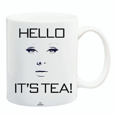 Juko Hello It's Tea Adele Funny Mug Coffee Cup Gift Idea - Juko