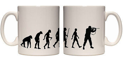 Juko Evolution Ape To Man Soldier Evo Tea Coffee Army Cup - Juko