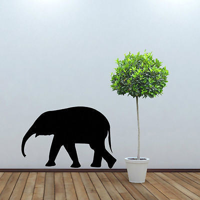 Elephant wall sticker decal boys girls bedroom large