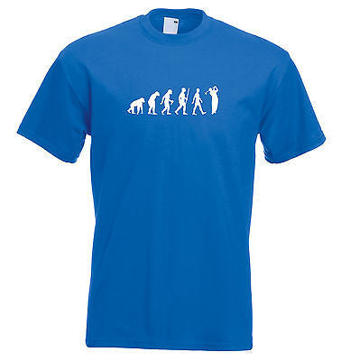 Juko Kids Golf T Shirt Evolution Ape to Golfer Children's Top - Juko