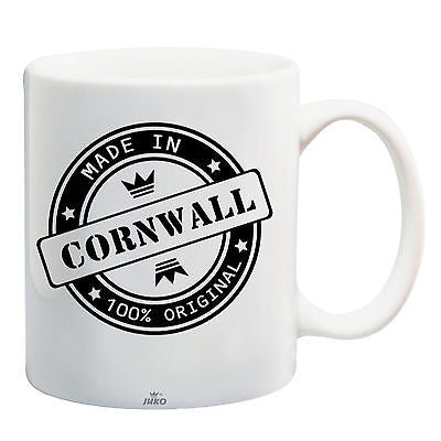 Juko Made In Cornwall Mug 100% Original Coffee Cup Gift Idea