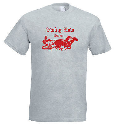 Juko Swing Low Sweet Chariot England Rugby T Shirt
