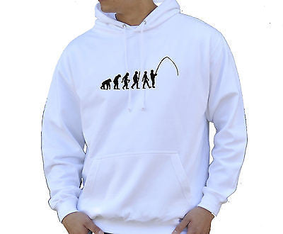 Adult Unisex Kids Evolution Hoodie Ape To Man Evo Fishing Hoody