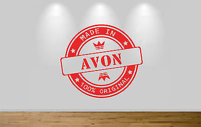 Juko Made In Avon Wall Sticker 100% Original Decal