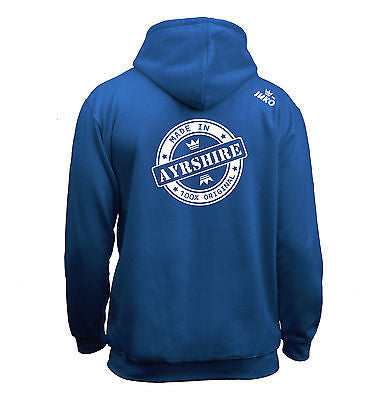 Juko Made In Ayrshire Hoodie 100% Original - Juko