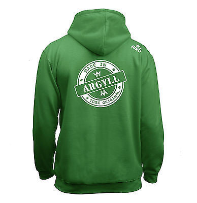 Juko Children's Made In Argyll Hoodie 100% Original.