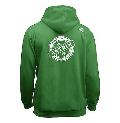 Juko Children's Made In Antrim Hoodie 100% Original.
