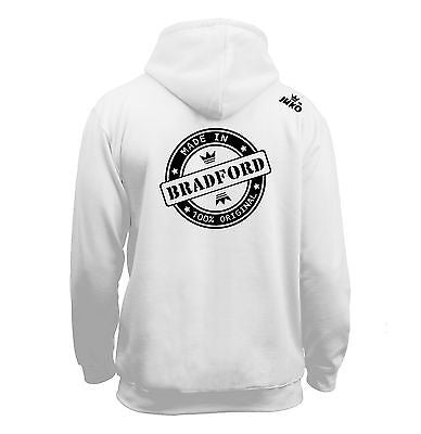Juko Children's Made In Bradford Hoodie 100% Original.
