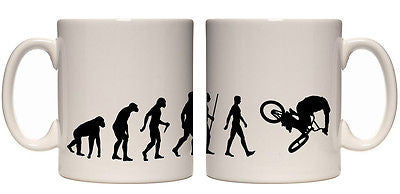 Juko Evolution ape to bmx Juko Evolution mug