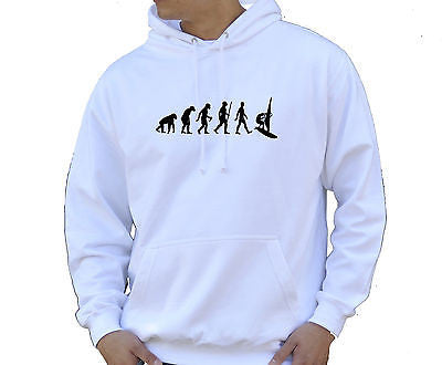 Adult Unisex Kids Evolution Hoodie Ape To Man Evo Windsurfer Hoody - Juko
