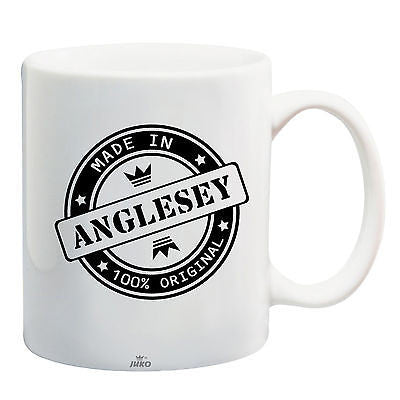 Juko Made In Anglesey Mug 100% Original Coffee Cup Gift Idea