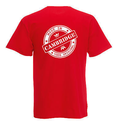 Juko Children's Made In Cambridge T Shirt 100% Original - Juko