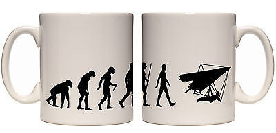 Juko Evolution Ape To Man Hang Glider Evo Tea Coffee Cup