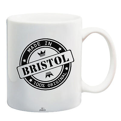 Juko Made In Bristol Mug 100% Original Coffee Cup Gift Idea