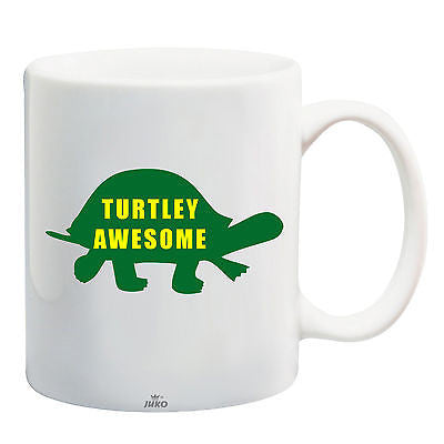 Juko Turtley Awesome Turtle Mug Totally Awesome Coffee Cup