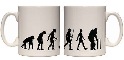 Juko Evolution Ape To Cricket Evolution Tea Coffee Evo Mug