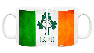 Juko Ireland Flag Rugby Football World Cup Tea Coffee Mug