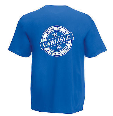 Juko Children's Made In Carlisle T Shirt 100% Original