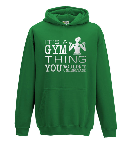 Juko It's A Gym Thing Hoodie Gymnastics Girls Hood
