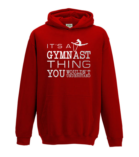 Juko It's a Gymnast Thing Hoody Top Hoodie 1311 - Juko