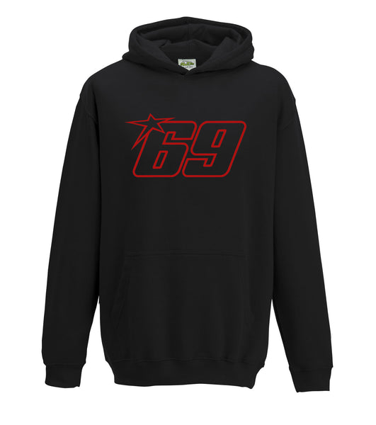 Nicky Hayden 69 Mens Moto GP Legend Hoodie Top
