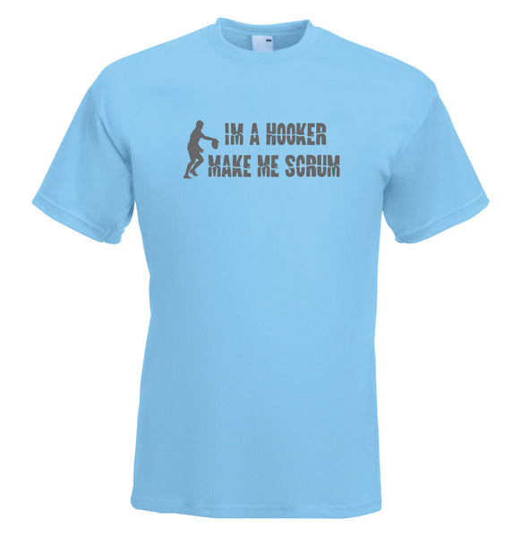 Juko I'm A Hooker Rugby World Cup T Shirt