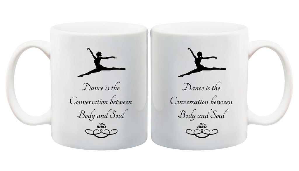Juko Dance Is The Conversation Between Body and Soul Mug - Juko