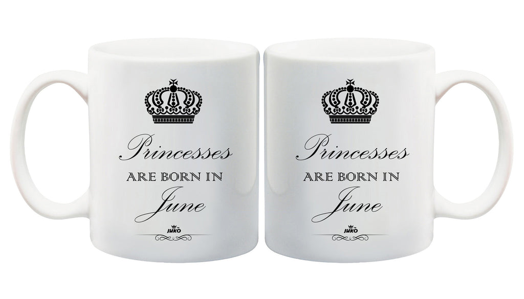 Juko Princesses Are Born In June Mug 1298 Princess Coffee Tea Cup