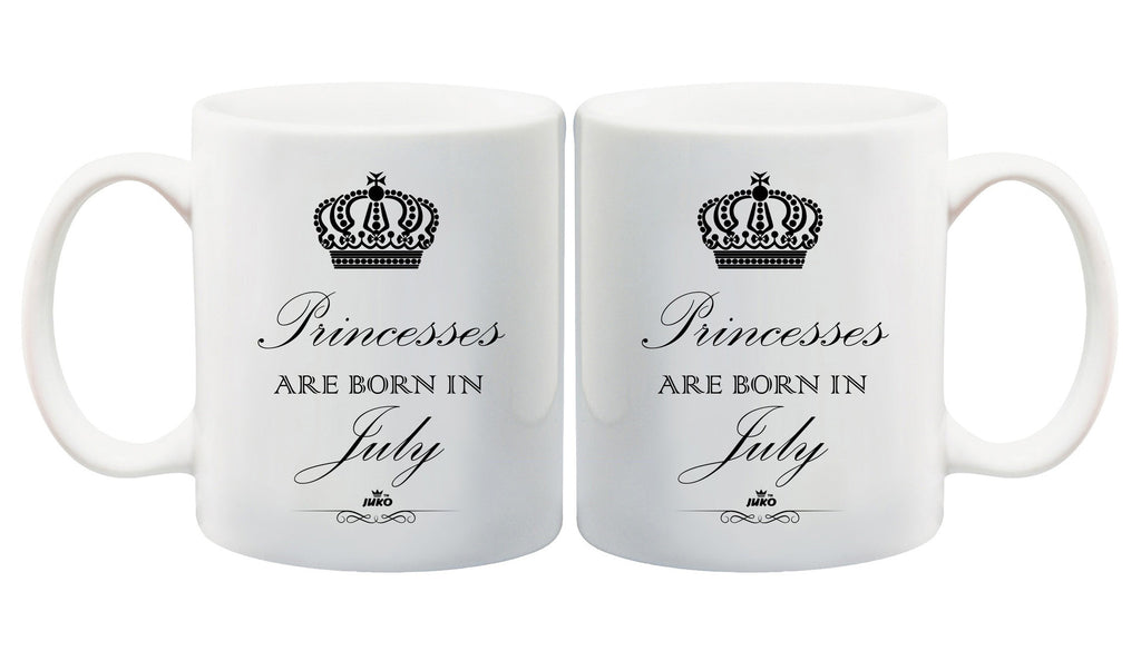 Juko Princesses Are Born In July Mug 1299 Princess Coffee Tea Cup