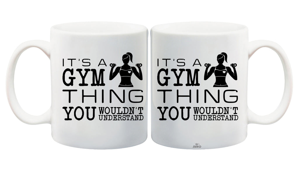 Juko It's a Gym Thing Tea Coffee Mug