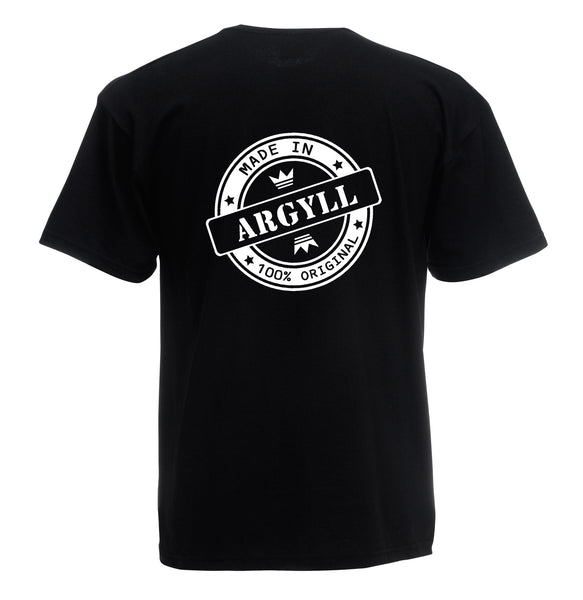 Juko Made In Argyll T Shirt 100% Original - Juko