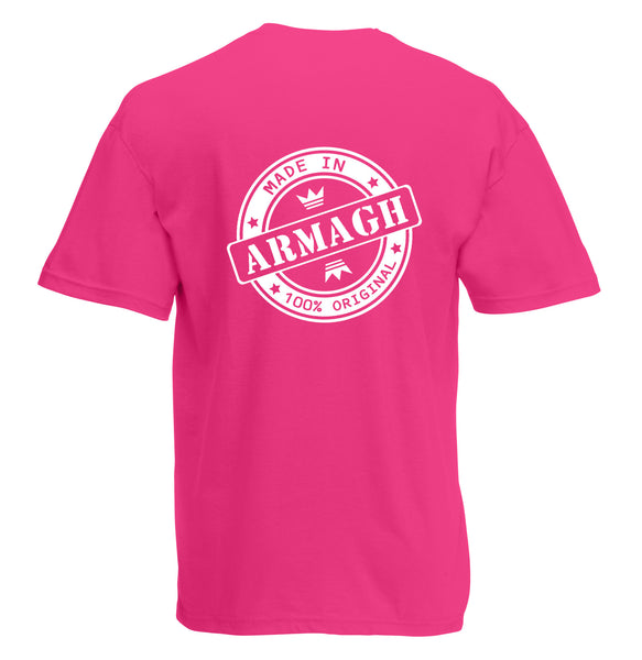 Juko Made In Armagh T Shirt 100% Original