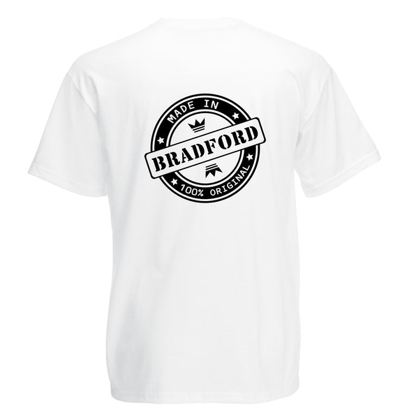 Juko Made In Bradford T Shirt 100% Original