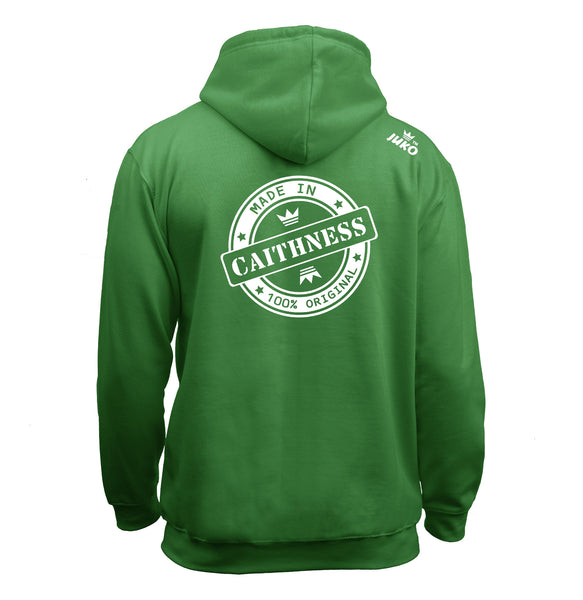 Juko Children's Made In Caithness Hoodie 100% Original.