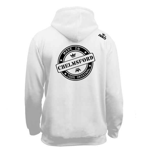 Juko Made In Chelmsford Hoodie 100% Original