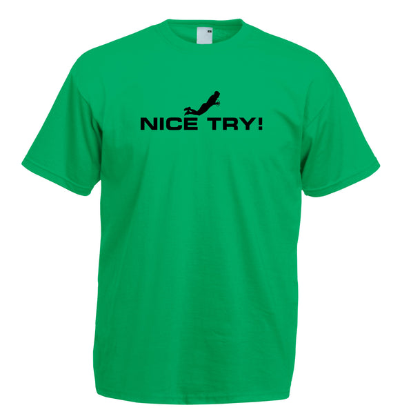 Juko Nice Try Rugby World Cup T Shirt