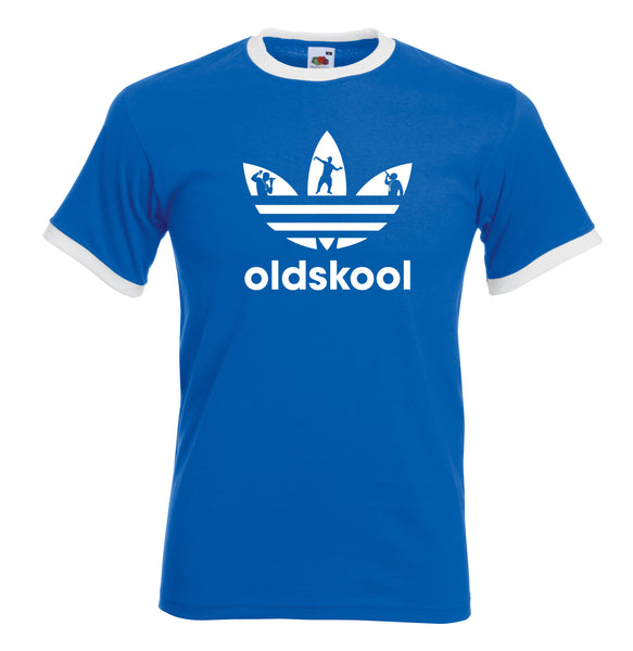 Juko Old Skool Ringer T Shirt 1337 Acid House Retro Rave T