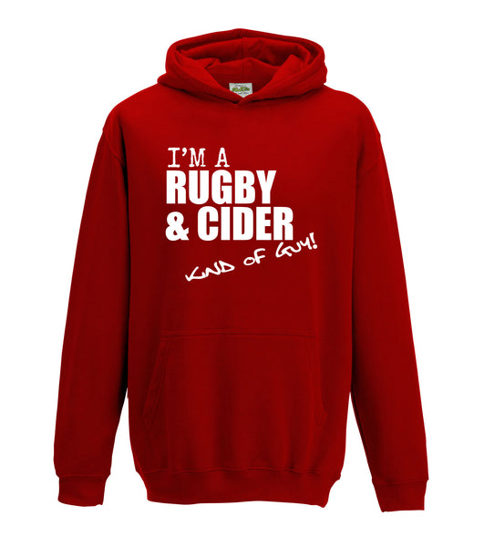 Juko I'm A Rugby And Cider Kind Of Guy Hoodie - Juko