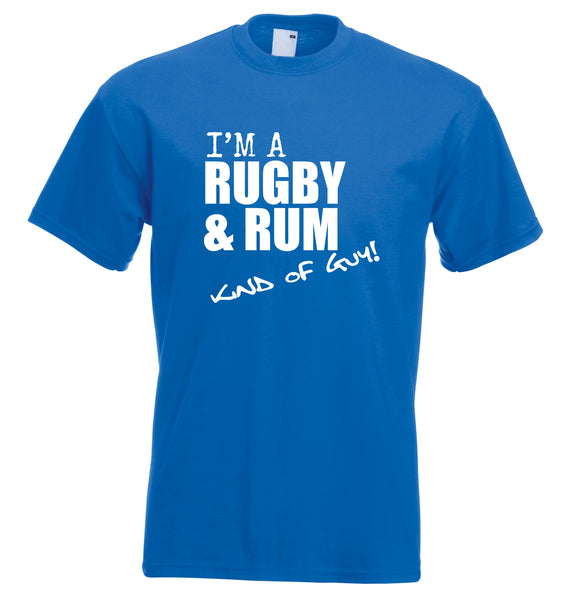 Juko I'm A Rugby And Rum Kind Of Guy T Shirt