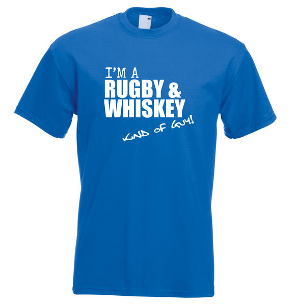 Juko I'm A Rugby And Whiskey Kind Of Guy T Shirt - Juko