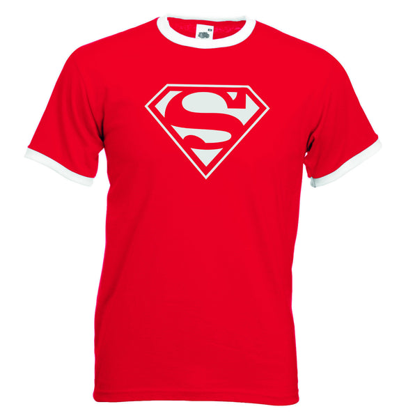 Superman retro t shirt super hero comic t shirt stag do t shirt