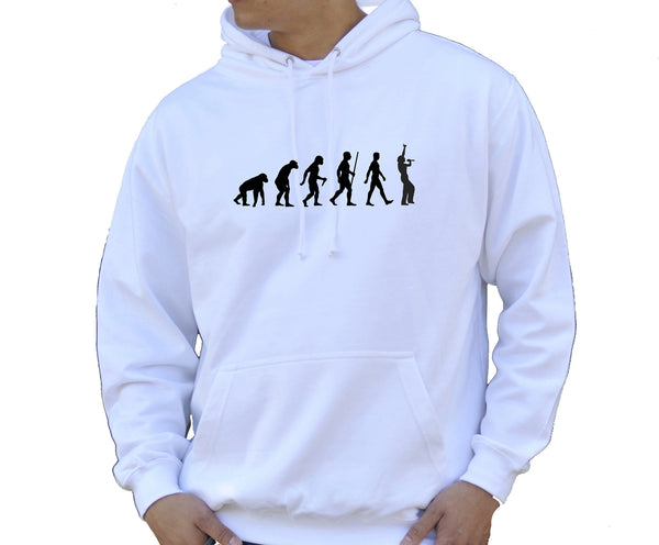Adult Unisex Kids Evolution Hoodie Ape To Man Evo Singer Hoody
