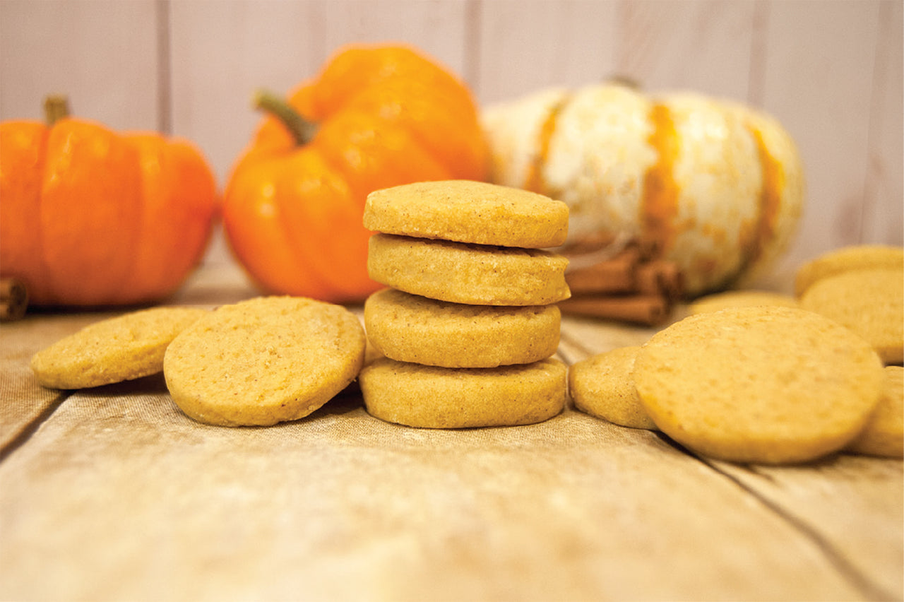 Pumpkin Shortbread Cookie Box