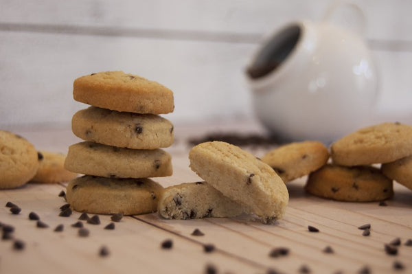 Bulk Chocolate Chip Shortbread Cookie Boxes