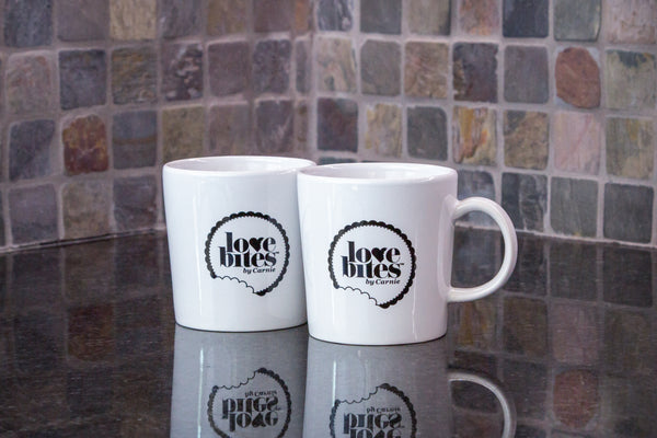Love Bites by Carnie Coffee Mug