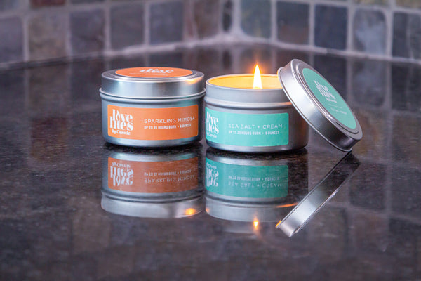 Love Lites by Carnie Candle Tins